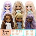 ICY Factory Blyth Doll Joint Body DIY Nude BJD toys Fashion Dolls girl gift Special Offer on sale with hand set A&B
