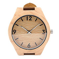 Natural Pine Wood Watches