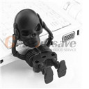 New Cool! Skeleton Skull Black 8GB USB 2.0 Flash Memory Pen Drive Stick (Size: 8GB, Color: Black)
