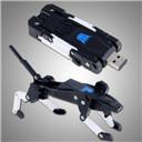 Transformer Design Robot Dog Model USB Flash Memory Drive U Disk 8GB 16GB