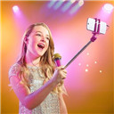 Microphone Selfie Stick With Mic Voice for Android phone Iphone Sing Karaoke