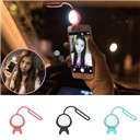 2016 Universal LED Flash Light Up Selfie Luminous Lamp Phone Ring For iPhone SE 5 6 6S Plus LG Samsung HTC LG