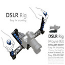 DSLR Rig Movie Kit Shoulder Mount Holder Easy For Shooting Camera / DV 5D Mark III 6D D810 D610