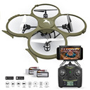 Kolibri U818A Wi-Fi Discovery Delta-Recon Quadcopter Drone Tactical Edition with 720p HD Camera