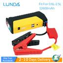 LUNDA Car Jump Portable Car JumpStarter 12V Car Engine Emergency Battery Fast Charge,High power mobile power supply
