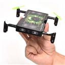 OVERMAL 1325 Folding Pocket Mini drone Selfie 2.0MP HD Camera 2.4G 4CH RC Quadcopter
