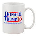 Donald Trump 16 Make America Great Again Ceramic Coffee Mugs