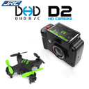 DHD D2 Mini Drone with Camera 2MP 2.4GHz 4 Channel 6 Axis Gyro Quadcopter 3D Rollover RTF Dron