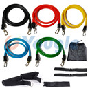 YOUGLE New 11 Pcs/Set Latex Resistance Bands