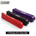 POWER GUIDANCE 3pcs/Set Fitness Rubber Pull