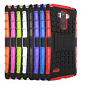 Shockproof Armor Hybrid Hard Kickstand Case Cover