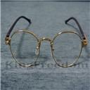 Vintage Oval Gold Eyeglass Frame