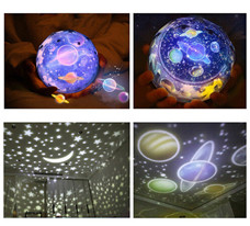 Starry Sky Magic Star Moon Planet Projector Lamp