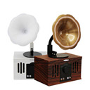 NEW AS80 Vintage Retro Phonograph Shape Wireless