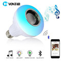 Wireless Bluetooth Speaker+ Smart Led Light Music Player