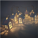 LED Christmas Tree House Style Fairy Light