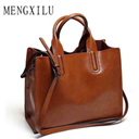 Leather Bags Handbags Women Famous Brands Big Casual Women Bags