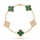 four-leaf clover bracelets