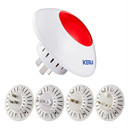 Wireless Flashing Alarm Siren