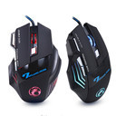 Professional Wired Gaming Mouse 7 Button 5500 DPI LED Optical USB Computer Mouse Gamer Mice X7