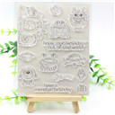 Silicone Stamp/Seal for DIY scrapbooking