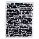 Plastic Embossing Folder For Scrapbooking Irregular Bricks