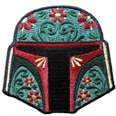 Helmet embroidery patch