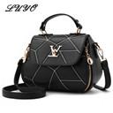Woman Geometry Small V Style Saddle Luxury Handbags