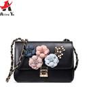 Atrra-Yo CrossBody Bag Stereo Flowers Female Messenger Bags