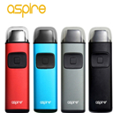 Original Aspire Breeze Starter Kits 2ml Capacity 650mAh built-in battery with 0.6ohm aspire breeze coil All-In-One Vaporizer AIO kit