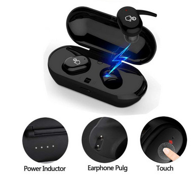 Bluetooth 5.0 tws t2 Wireless Earphone