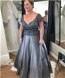 plus size mother ot the bride dress