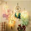 Fairy Lights led para celular Indian Dream Catcher Net