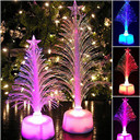 Xmas Tree Home Table Party Decor Charm Small Night Light