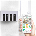 US 4 Gang LED Touch WIFI Switch Wireless
