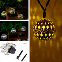 Solar String Lights Moroccan Ball