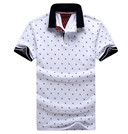 Cotton Short Sleeve Camisas Polo