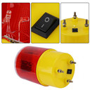 Red LED Emergency Warning Light