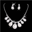 Rhinestone Bridal Jewelry set