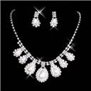 Rhinestone Bridal Jewelry set