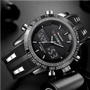 Luxury Brand Watches Men Waterproof LED Digital Quartz Watches