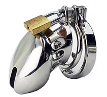 Stainless Male Chastity Device