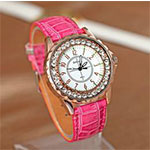Candy Jelly Leather Men's Women Watches