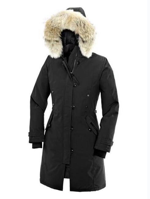 goose Hoodies Fur Fashionable Winter Coats