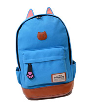Cartoon Cat Ear Herschel Backpacks