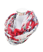 Flower Loop Scarves