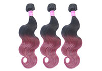 Red Ombre Hair Weave