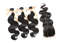 Full Hair Weaves With Top Closure