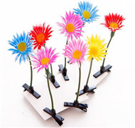 Hair Pins Artificial Grass Fruit Flowers