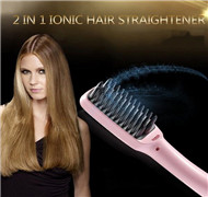 Ionic Hair Straightener Comb